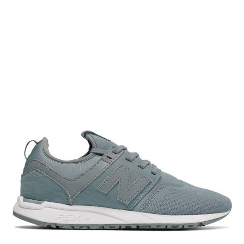 New Balance Grey Blue Textile Q118 Sneakers