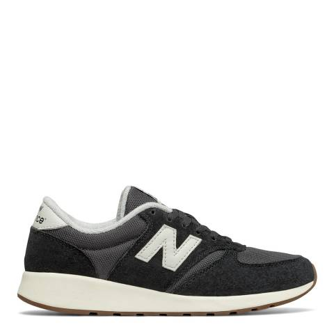 New Balance Black Suede 420 Sneakers