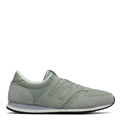 New Balance Green Textile 420 Sneakers