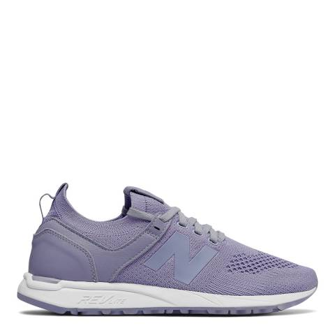 New Balance Lilac Textile 247 Sneakers