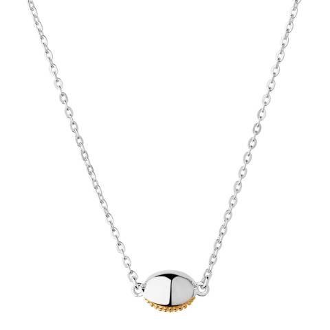 Links of London Yellow Gold Masquarade Oval Necklace