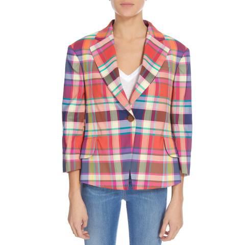 Vivienne Westwood Blue Multi Princess Jacket
