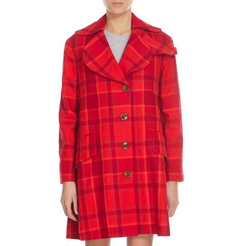 Vivienne Westwood Red City Love Coat