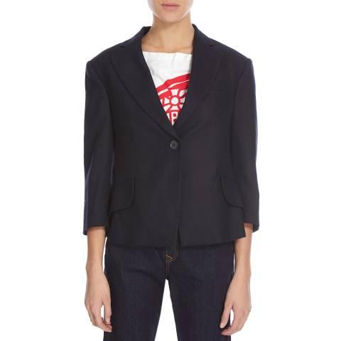 Vivienne Westwood Navy Cropped Princess Jacket