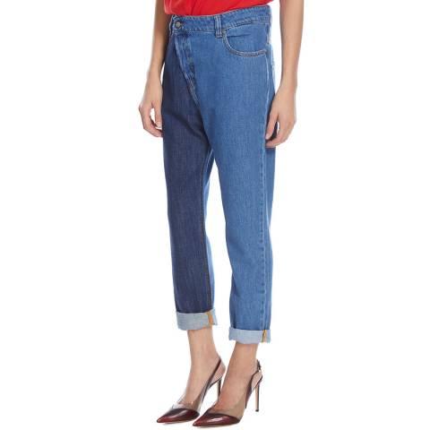 Vivienne Westwood Blue/Indigo Calamity Boyfriend Jeans