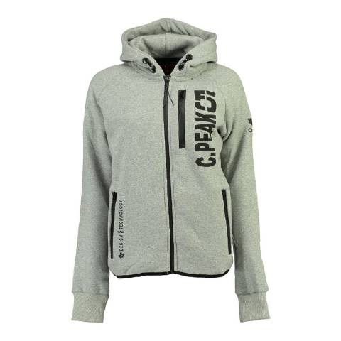 Canadian Peak Light Grey Golapeak Sweat With Hood