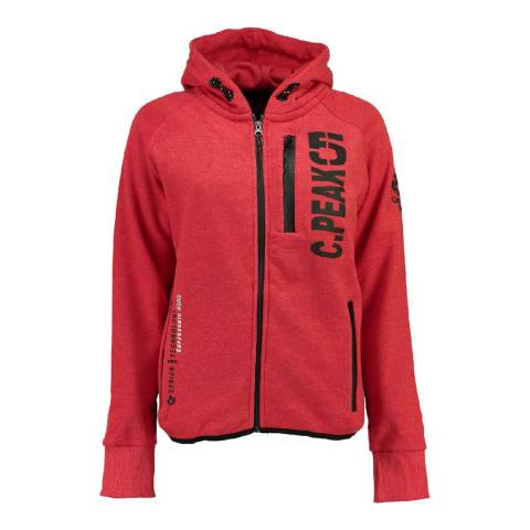 Canadian Peak Red Golapeak Sweat With Hood