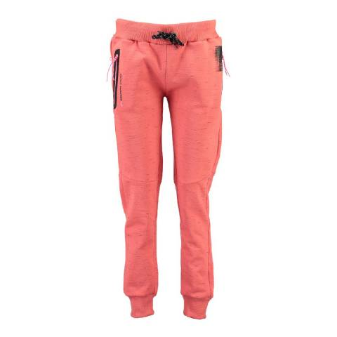 Canadian Peak Light Pink Map Jogging Pant With Yokes