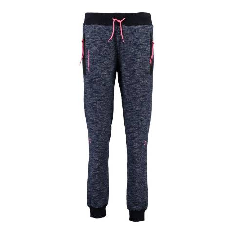 Canadian Peak Black Map Jogging Pant With Yokes