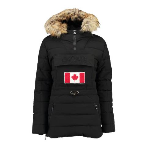 Canadian Peak Black Bunnateak Padded Jacket