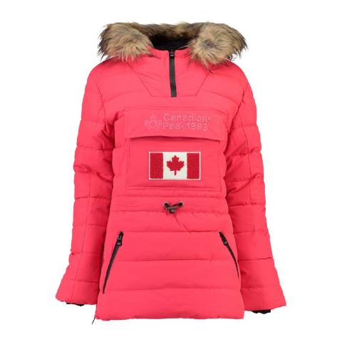 Canadian Peak Coral Bunnateak Padded Jacket