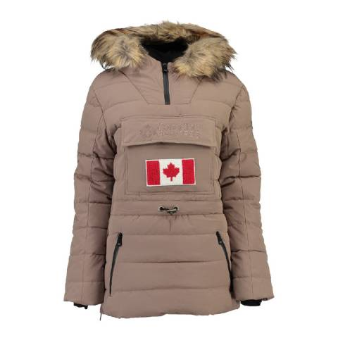 Canadian Peak Taupe Bunnateak Padded Jacket