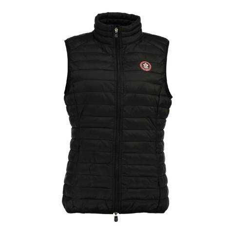 Canadian Peak Black Vamilay Basic Quilted Gilet