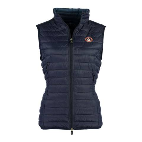Canadian Peak Navy Vamilay Basic Quilted Gilet