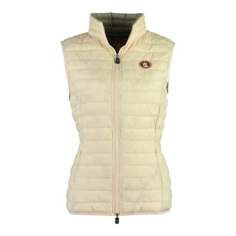 Canadian Peak Pink Vamilay Basic Quilted Gilet