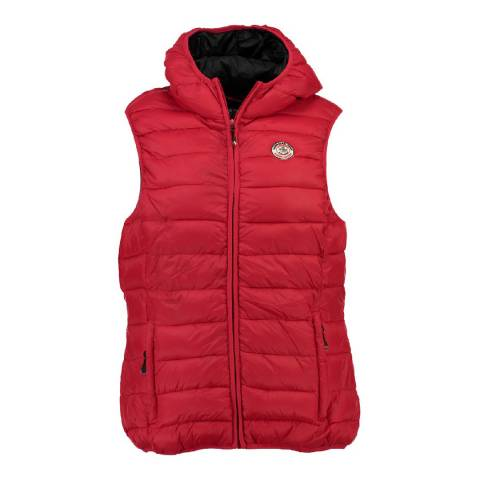 Canadian Peak Red Vineka Quilted Gilet