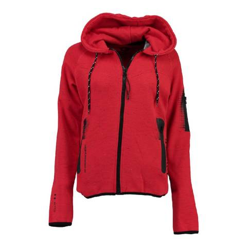 Canadian Peak Red Fanatic Sweat With Hood
