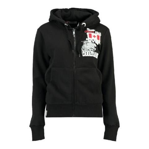 Canadian Peak Black Fara Sweat With Hood