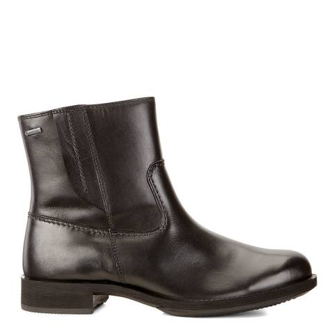 ECCO Black Leather Saunter Fairway Chelsea Boots