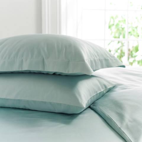 The Lyndon Company 800TC Housewife Pillowcase, Duck Egg