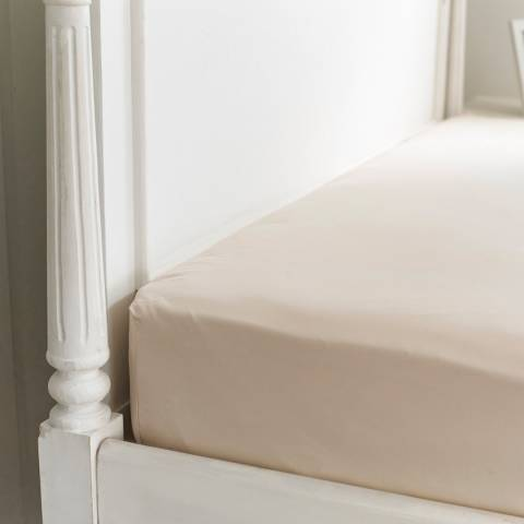 The Lyndon Company 800TC King Fitted Sheet, Prosecco
