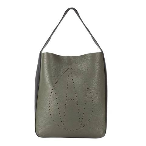 Amanda Wakeley Khaki The Jovi Bag