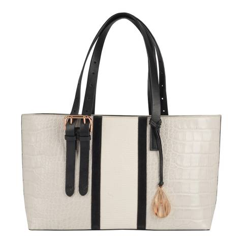 Amanda Wakeley Mineral/Ecru The East West Dean Bag