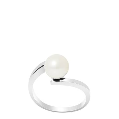 Atelier Pearls White Single Pearl Ring 7.5-8mm