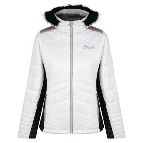Dare2B White/Black Comprise Jacket