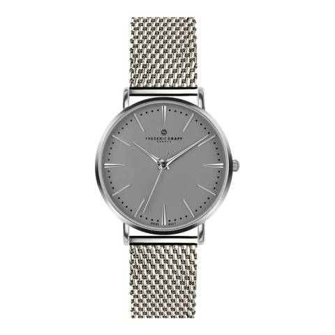 Frederic Graff Women's Grey Eiger Watch 38mm
