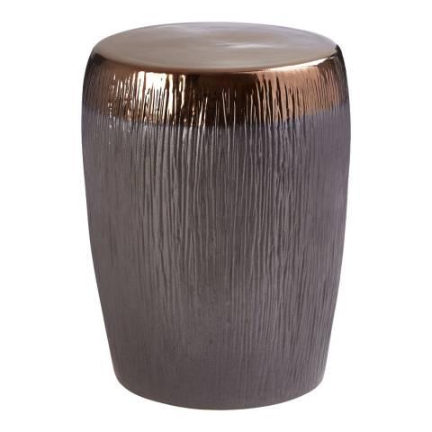Fifty Five South Mica Metallic Ceramic Stool