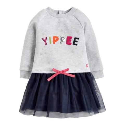 Joules Girls Hettie Tutu Skirt Sweater Dress