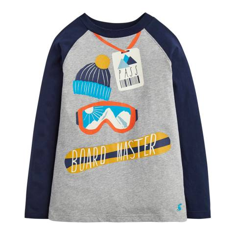 Joules Boys Raymond Glow in the Dark Raglan Top