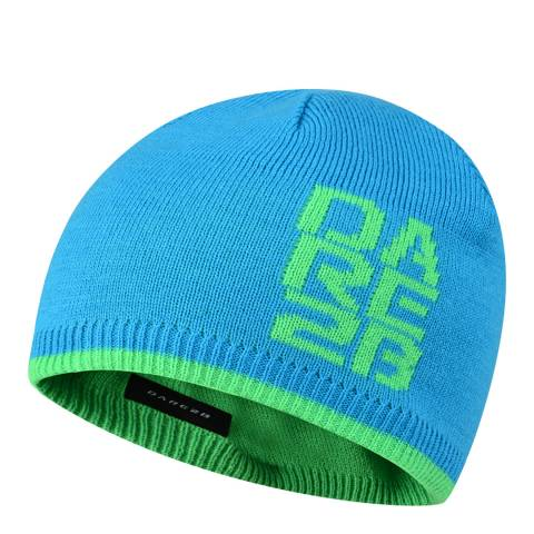 Dare2B Kids Fluro Blue Thick Cuff Beanie