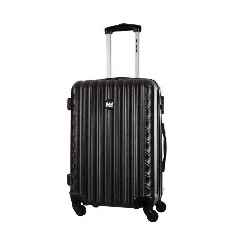 Bagstone Black 4 Wheel Sweety Suitcase 56cm