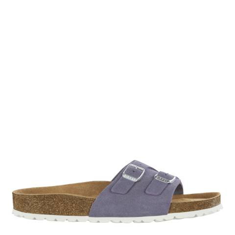 Birkenstock Lavender Suede Leather Vaduz Regular Sandals