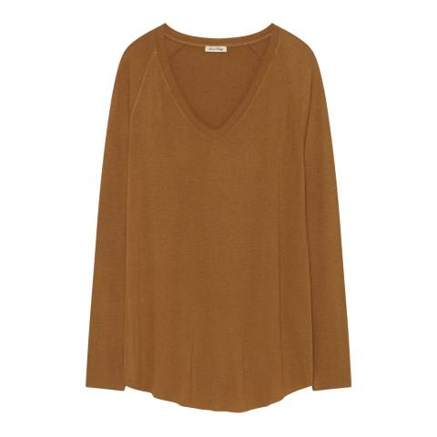 American Vintage Brown Albaville T-Shirt