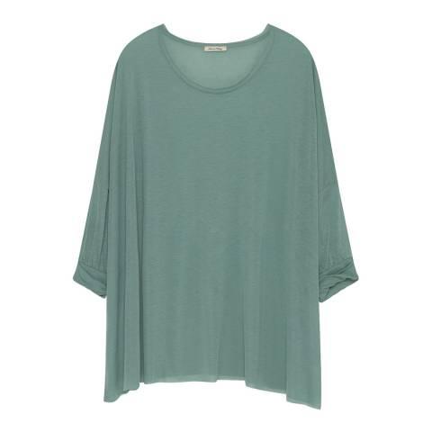 American Vintage Green Ohio Wool Blend T-Shirt