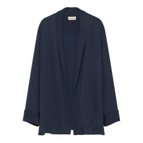 American Vintage Blue Arivagigi Cardigan