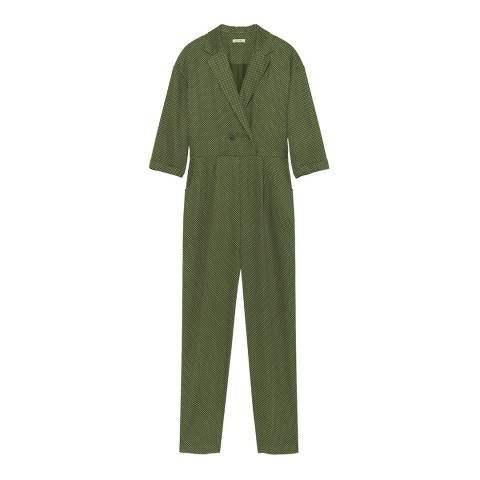 American Vintage Green Dalida Jumpsuit
