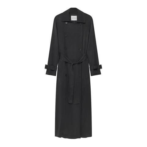 American Vintage Black Belted Ipipiwood Coat
