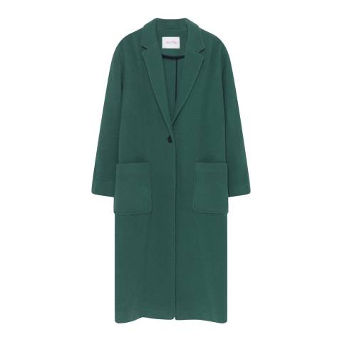 American Vintage Green Pazzion Coat