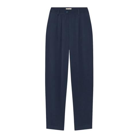 American Vintage Blue Arivagigi Trousers
