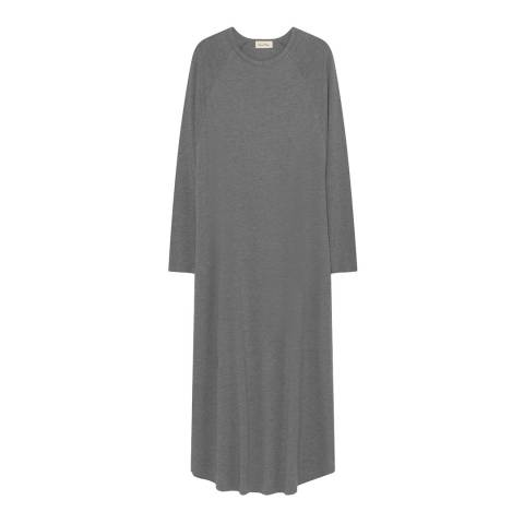American Vintage Grey Long Sleeve Maxi Dress