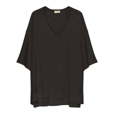 American Vintage TOP MANCHES 3/4 COL V