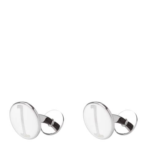 Hackett London White Polo One Cufflinks
