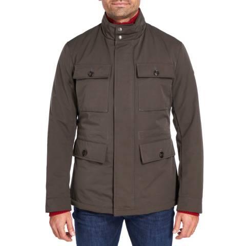 Hackett London Olive Bradbury Field Jacket