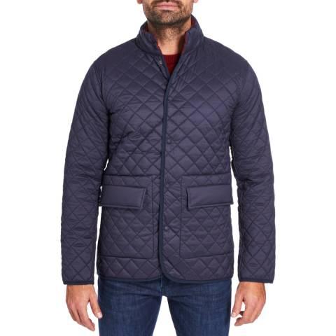 Hackett London Navy/Oxblood Reversible Paddock Jacket