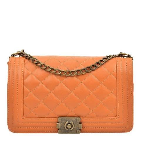 Anna Luchini Cognac Anna Luchini Shoulder Bag