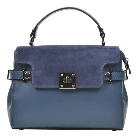 Carla Ferreri Blue Carla Ferreri Top Handle Bag